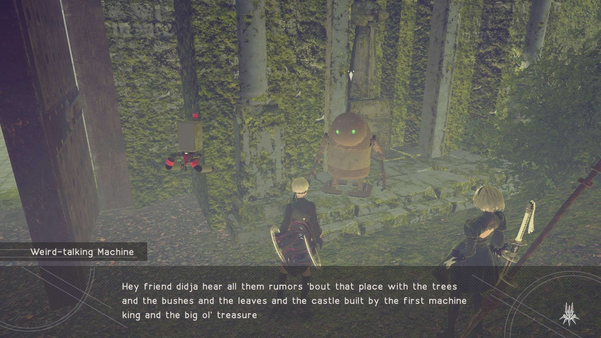 Treasure Hunt At The Castle Nier Automata Wiki